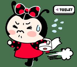 Seenam-LadyBug and Friend sticker #1427158