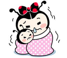 Seenam-LadyBug and Friend sticker #1427163