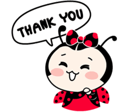 Seenam-LadyBug and Friend sticker #1427165