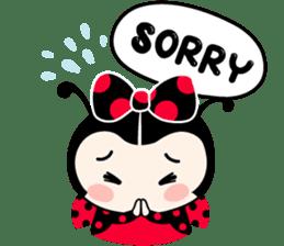 Seenam-LadyBug and Friend sticker #1427167