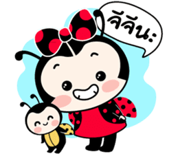 Seenam-LadyBug and Friend sticker #1427173
