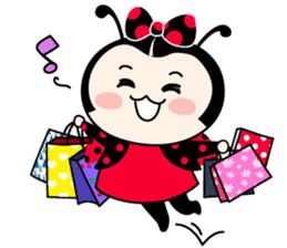 Seenam-LadyBug and Friend sticker #1427175