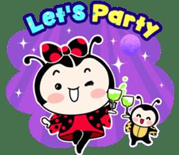 Seenam-LadyBug and Friend sticker #1427177