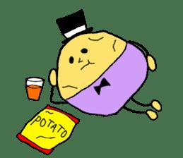Mr.potato sticker #1427570
