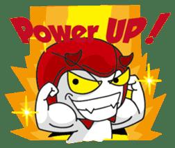 DerDer the Naughty Little Devil sticker #1431699