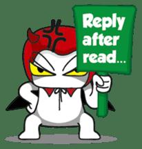DerDer the Naughty Little Devil sticker #1431737