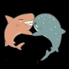 Shark and Whale Shark