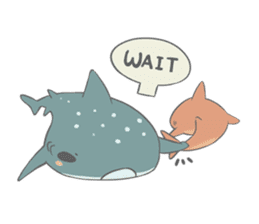 Shark and Whale Shark sticker #1432145