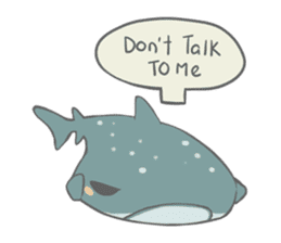 Shark and Whale Shark sticker #1432157