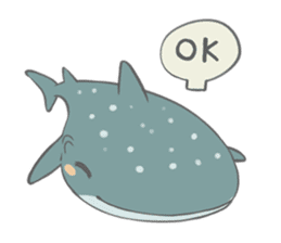 Shark and Whale Shark sticker #1432164