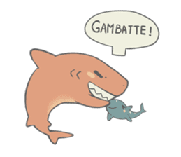 Shark and Whale Shark sticker #1432168