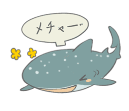 Shark and Whale Shark sticker #1432171