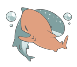 Shark and Whale Shark sticker #1432177
