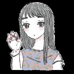 dull girl