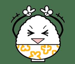 Rice! sticker #1433703