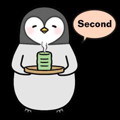 Emperor penguin Hachan  second (English)