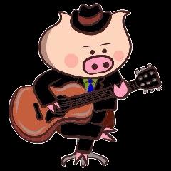 Hard-boiled pig 2