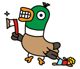 PinPon The Duck & PiPo sticker #1437638