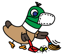 PinPon The Duck & PiPo sticker #1437642