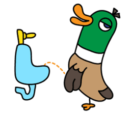 PinPon The Duck & PiPo sticker #1437644