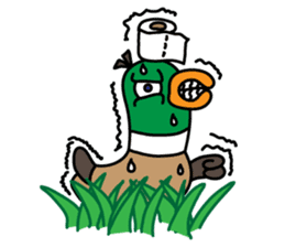 PinPon The Duck & PiPo sticker #1437645