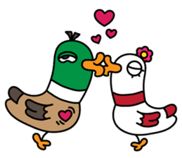 PinPon The Duck & PiPo sticker #1437653