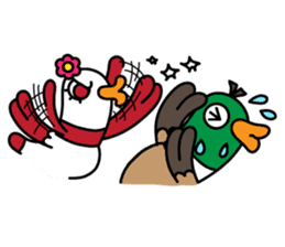 PinPon The Duck & PiPo sticker #1437655