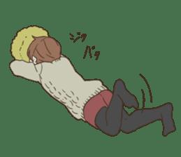 honobono log sticker sticker #1438555