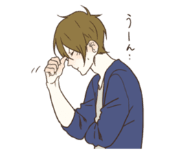 honobono log sticker sticker #1438558