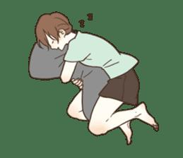 honobono log sticker sticker #1438575
