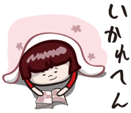 "girls ""Marron-chan"" (Kansai dialect) sticker #1438749"