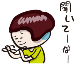 "girls ""Marron-chan"" (Kansai dialect) sticker #1438756"