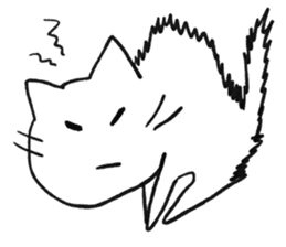Anime character cat sticker #1443061