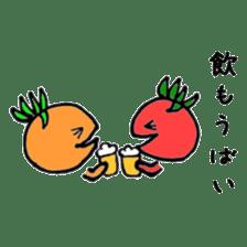 Fukuoka LOVE tomatochan sticker #1443342