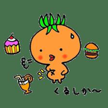 Fukuoka LOVE tomatochan sticker #1443345