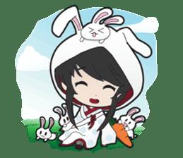 Shirayuki Hime sticker #1444236