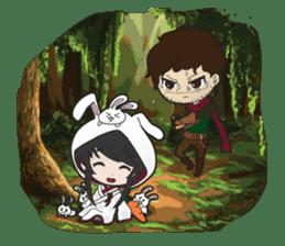 Shirayuki Hime sticker #1444245
