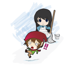 Shirayuki Hime sticker #1444267