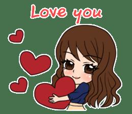 "StampGirl ""Lovers"" English edition sticker #1444839"