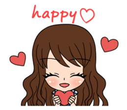 "StampGirl ""Lovers"" English edition sticker #1444840"