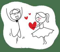 Pepe & Lulu   Love Journey sticker #1446280