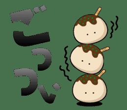 Osaka institution Takoyaki sticker #1447420