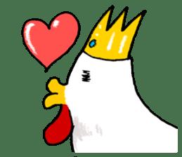 affected chicken sticker #1449355