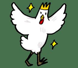 affected chicken sticker #1449359