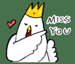 affected chicken sticker #1449370