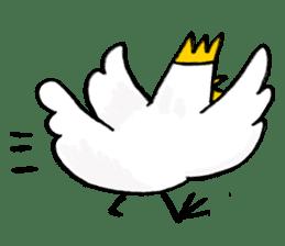 affected chicken sticker #1449388