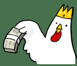 affected chicken sticker #1449390