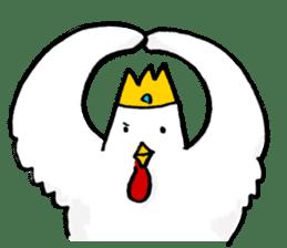 affected chicken sticker #1449392