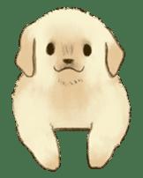 The Golden Retriever Puppy! sticker #1450594