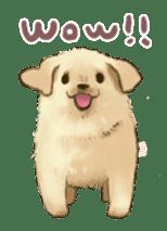 The Golden Retriever Puppy! sticker #1450598